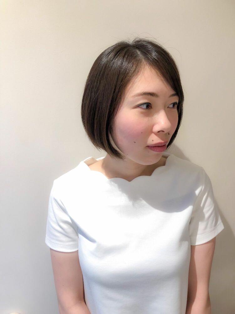 錦糸町Lond武井俊樹シルエットが可愛い♡『丸々ストレートボブ』