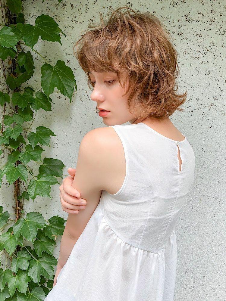 錦糸町Lond武井俊樹外国人くせ毛パーマ☆『透明感くせ毛カラー』