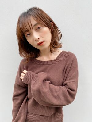 BAYROOM横浜 ひし形が可愛い♡レイヤーミディアム