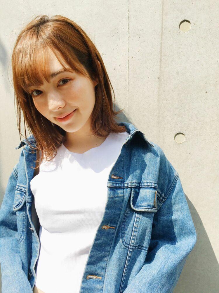 BAYROOM横浜 外ハネボブ♡柔らかベージュ