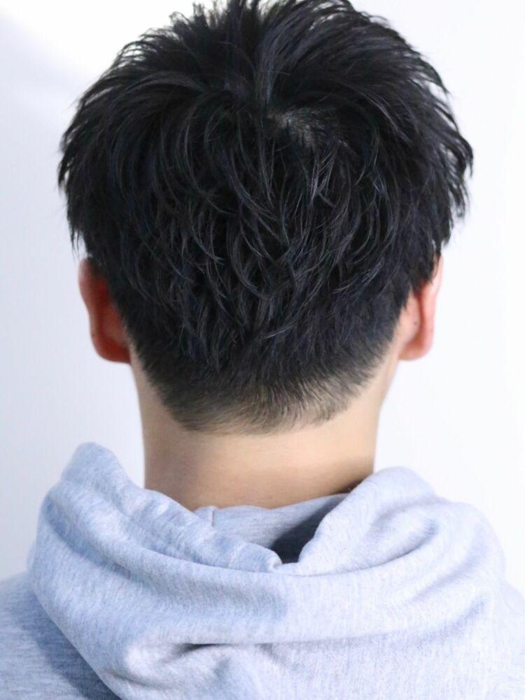 ツーブロック刈り上げメンズヘアスタイル