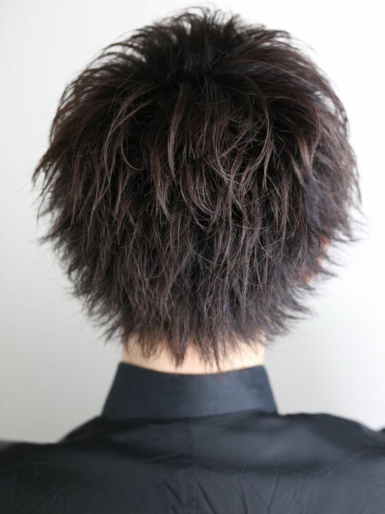 成人式ヘア(ken goショート)