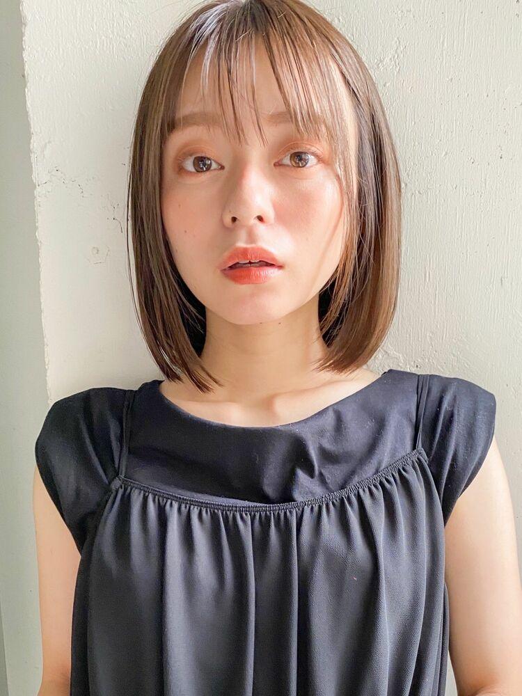 kyli表参道 似合わせ小顔カット大人かわいいくびれボブヘア