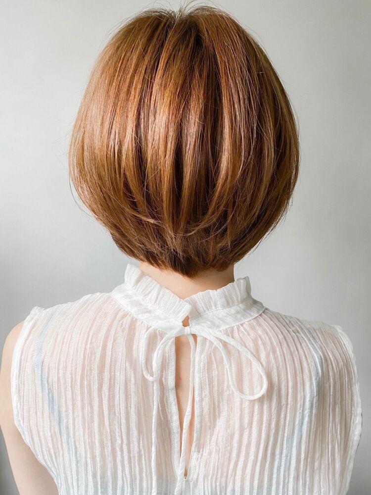 kyli表参道 金子颯汰*小顔効果♪ふんわり美髪前下がりショートボブ