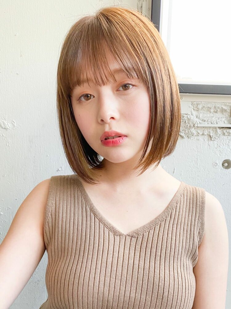 dydi表参道 金子颯汰*オトナ女性の朝ラクおしゃれボブ