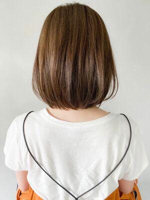 kyli表参道 金子颯汰*小顔効果♪ふんわり美髪前下がりショートヘア♪