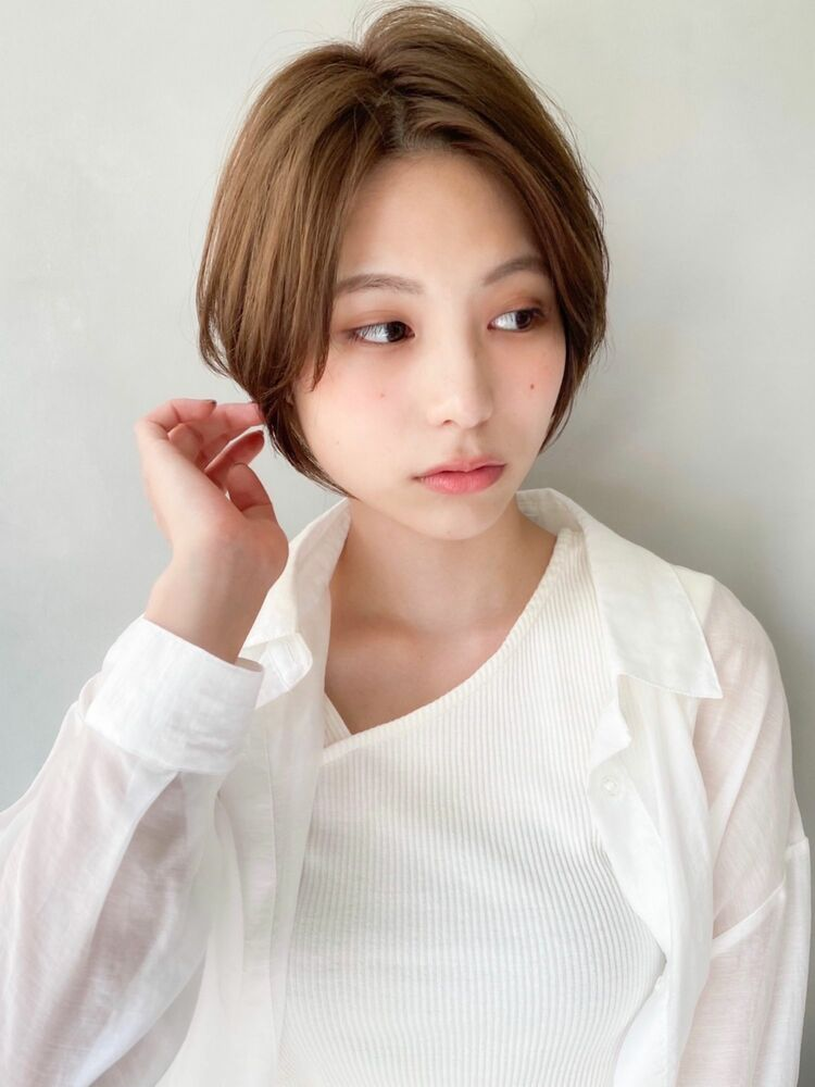 kyli表参道 金子颯汰*小顔効果♪ふんわり美髪前下がりショートボブ♪