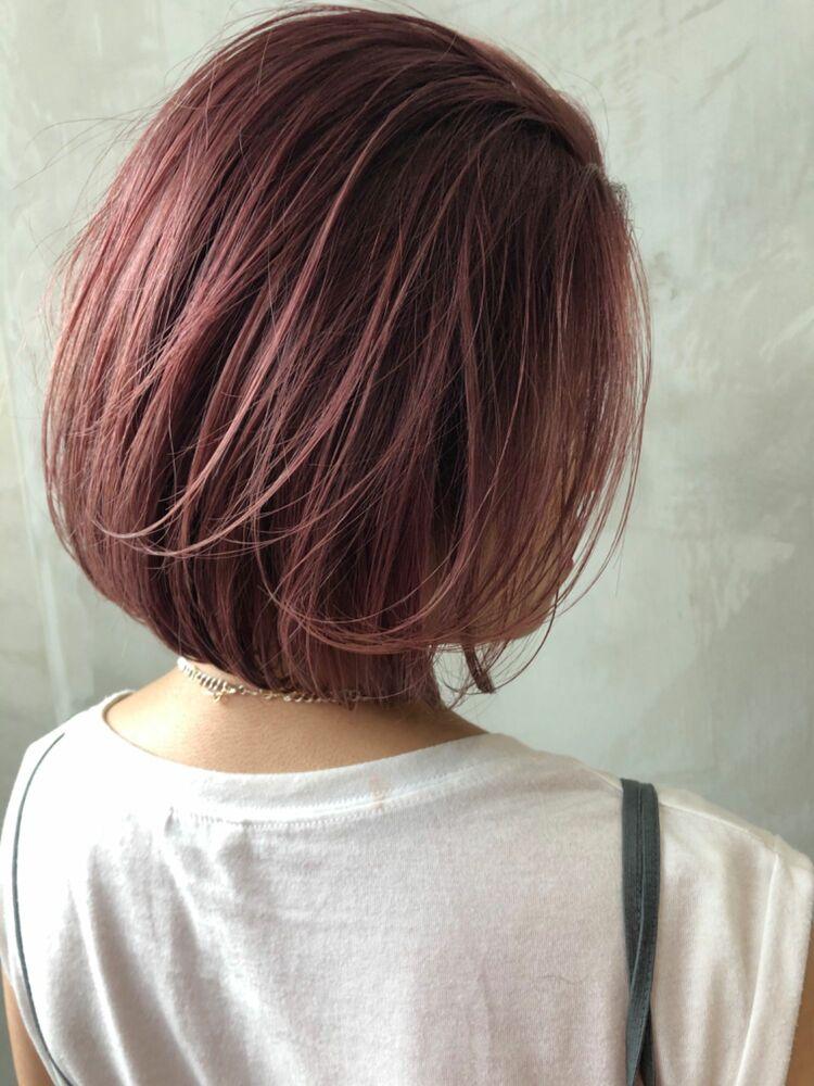 色落ちも綺麗なピンク