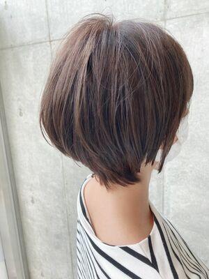 絶壁カバーショートボブ☆jeanaharbor清水