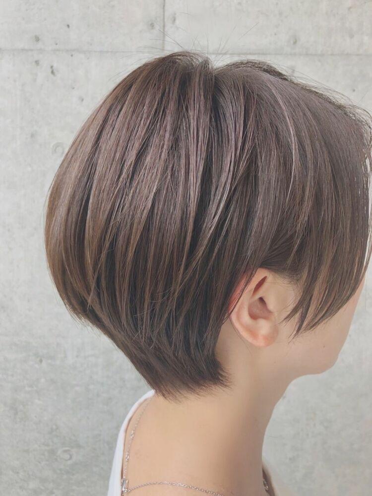 耳かけ大人ショート☆40代からの髪型