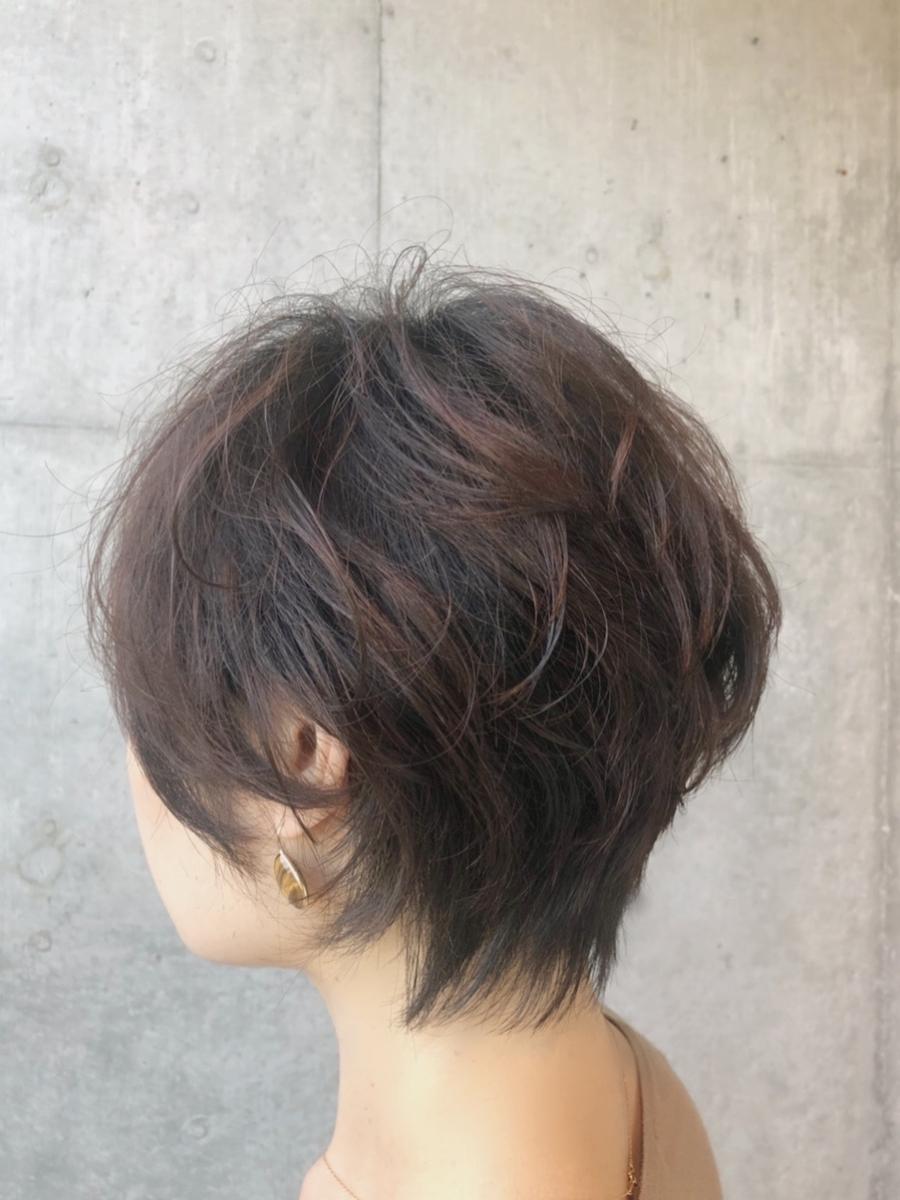 40代髪型☆無造作パーマでふんわり☆