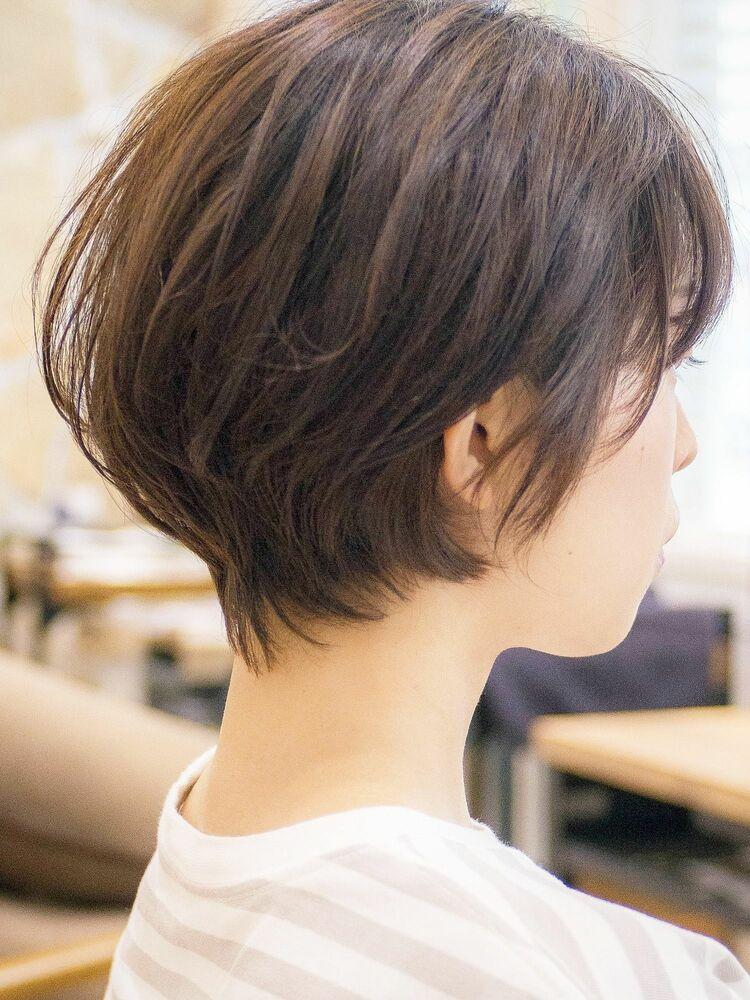 ふんわり丸みショートボブ・浦和の美容室トライベッカ荒巻充のショートヘア・骨格矯正カット