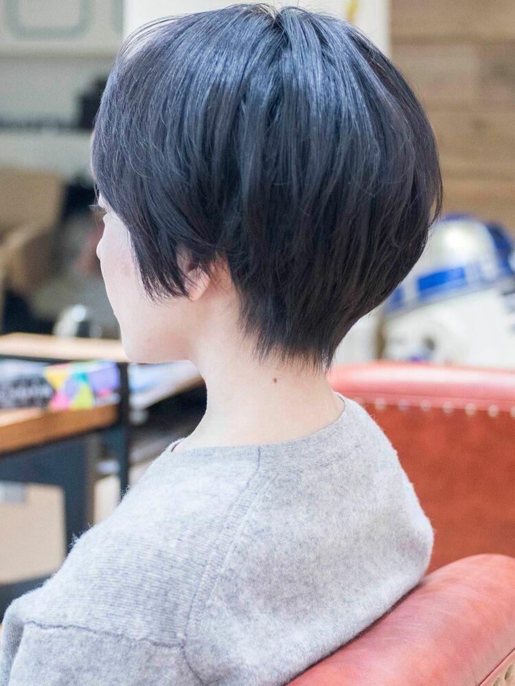 大人かわいいハンサムショート・浦和の美容室トライベッカ荒巻充のショートヘアー、ショートカット