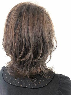 ウル艶コテ巻きみたいな髪質改善パーマ