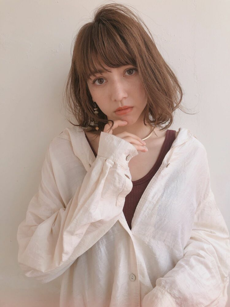 ♡ボブ♡外ハネ♡無造作♡デジタルパーマ♡@yumikomatsumori