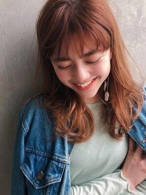 ♡デジタルパーマ♡レイヤーカット♡ワンカール♡シースルーバング♡@yumikomatsumori