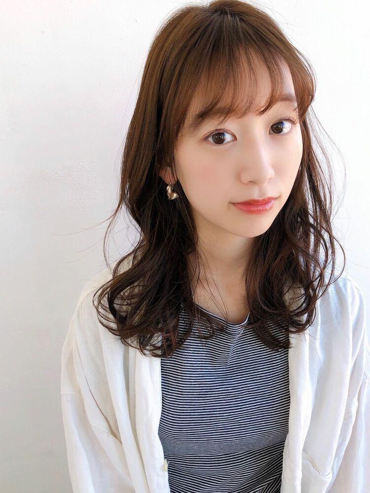 ♡デジタルパーマ♡毛先パーマ♡レイヤー♡ひし形♡ゆるふわ♡ @yumikomatsumori