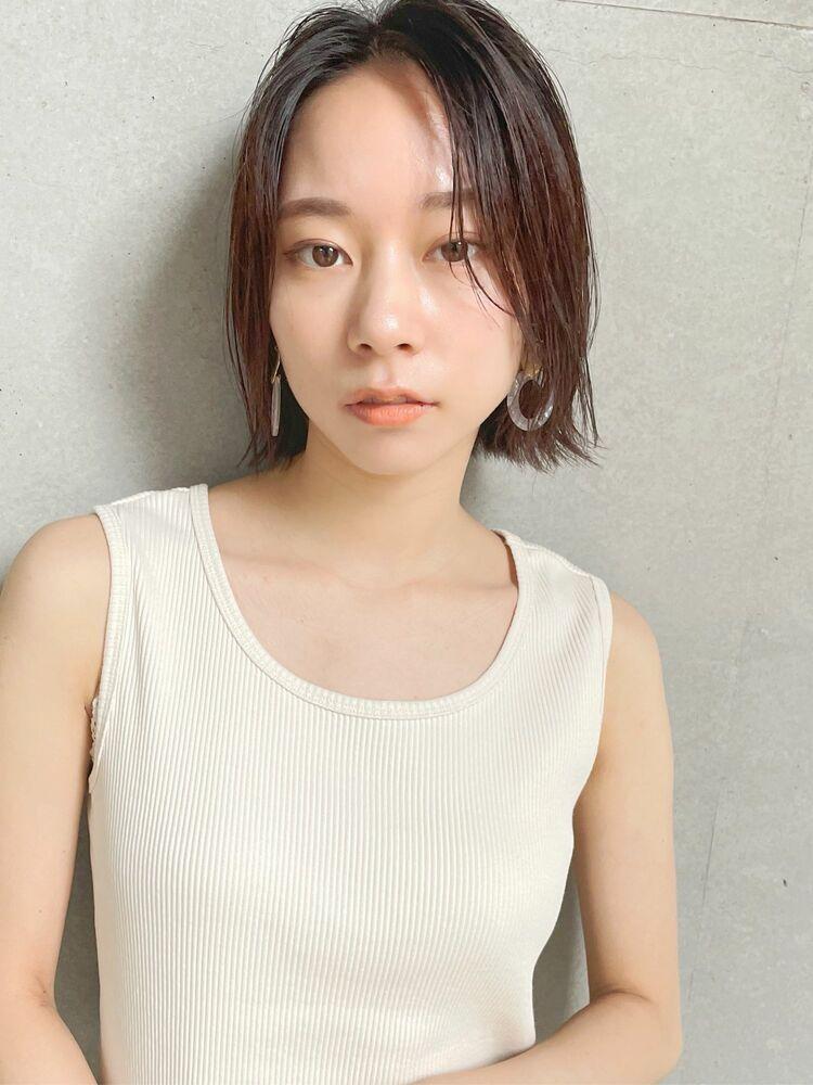 [中村マサアキ]コリアン切りっぱなしボブ☆