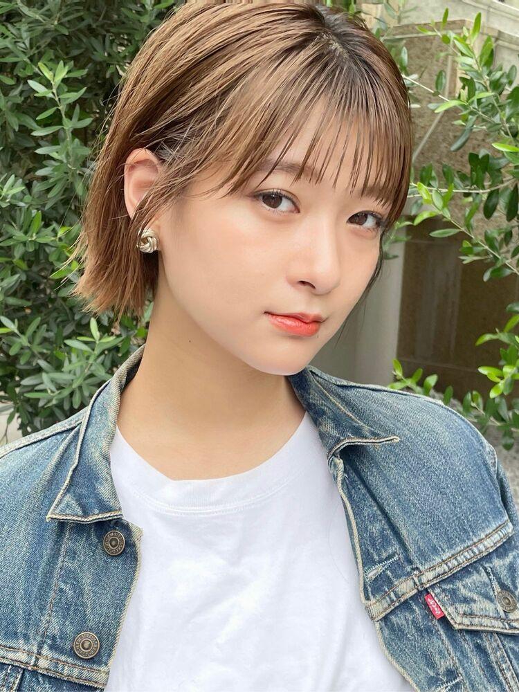 [中村マサアキ]切りっぱなしの耳かけボブ☆