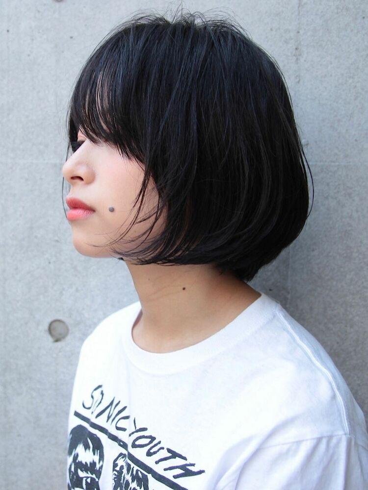 [中村  マサアキ]ウザめ前髪のスリークボブ☆