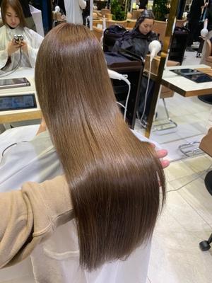 天使の輪トリートメント 髪質改善 縮毛矯正