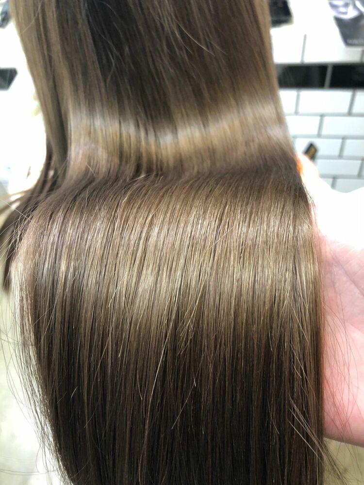 ツヤサラ1ヶ月業界注目韓国発プリンセストリートメント ブリーチ髪でも可能