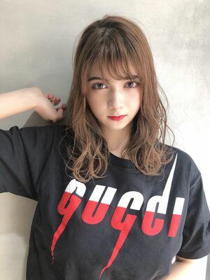 楽ちんスタイリングのミディアムヘア☆