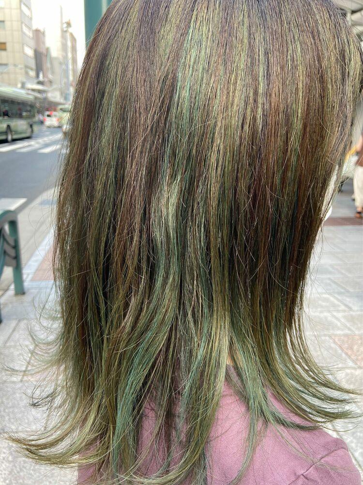 ハイライトグリーンcolor