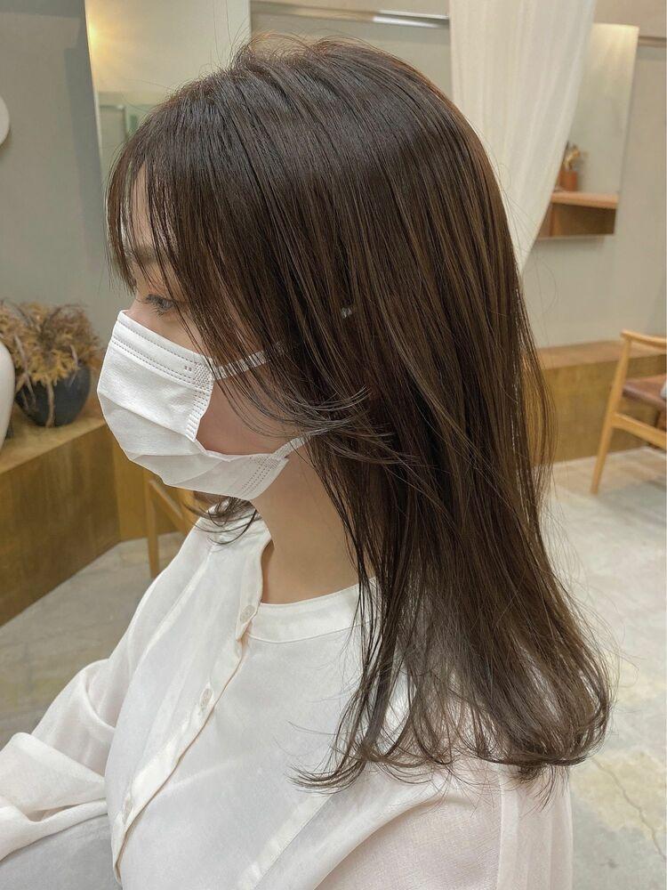 韓国風ショコラブラウン
