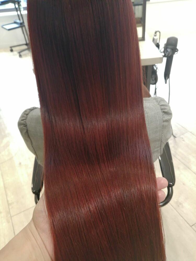 ☆髪質改善トリートメント&イルミナカラーで輝くツヤ髪☆
