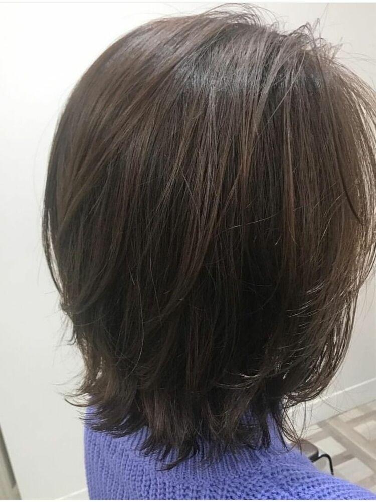 ☆髪質改善×ふんわりボブ×毛先ワンカール×ニュアンスカール×ハイライト☆