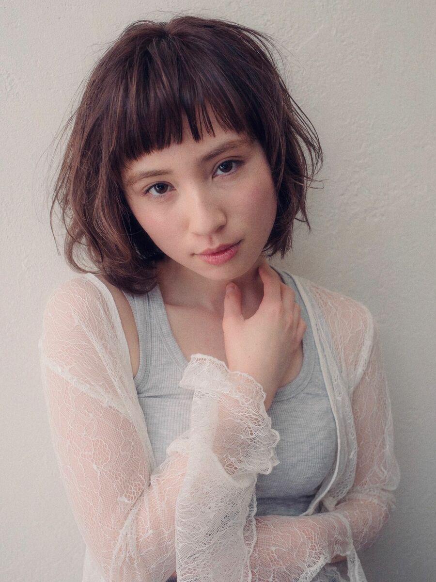 銀座MINX鈴木/銀座一丁目徒歩1分 ナチュラルショートな美バランスカラーリング