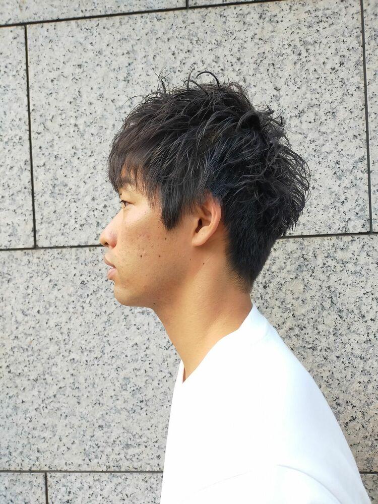王道ひし形ショート  ヒロ銀座/理容室/神田/ 丸の内/