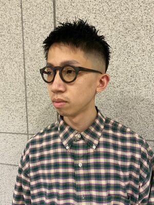 爽やかフェードスタイル  神田/理容室/丸の内