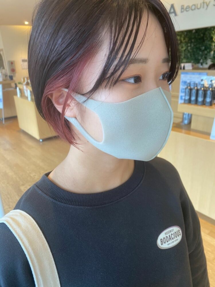 pink×earring color