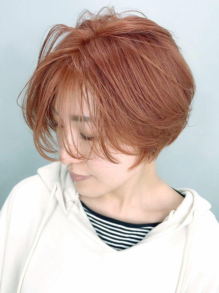 ピンクオレンジ_ba281161