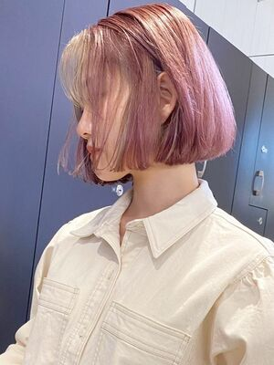 ピンクアッシュ&ライトアッシュ_ba305521