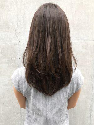 大人可愛い美髪毛先ワンカールパーマ