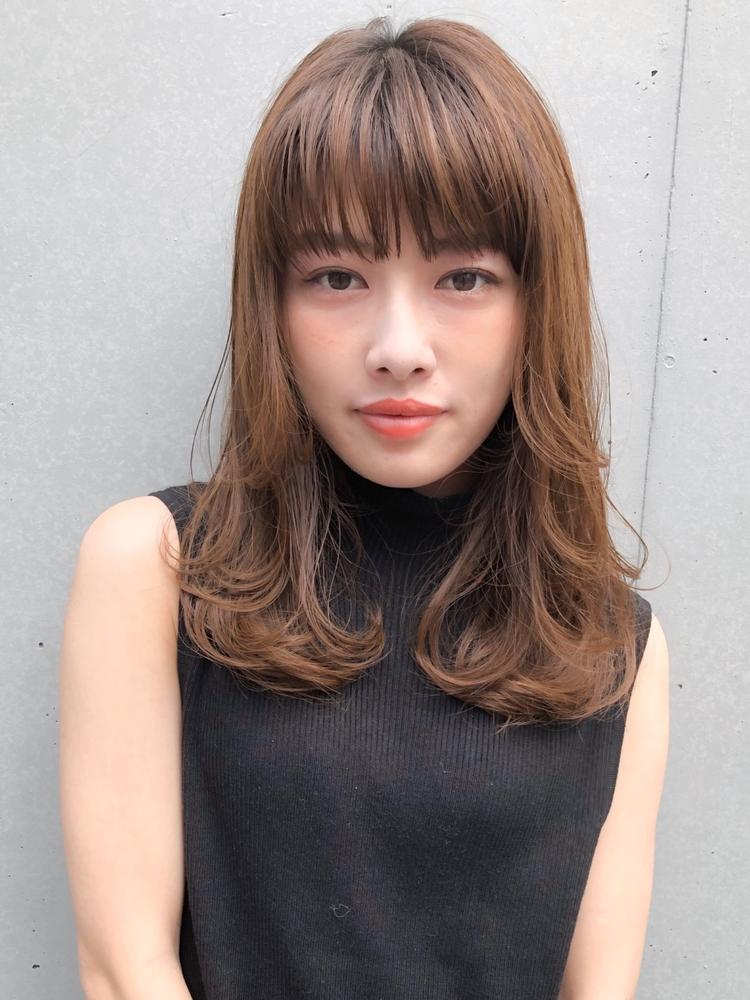 レイヤー×毛先デジタルパーマのニュアンスヘア