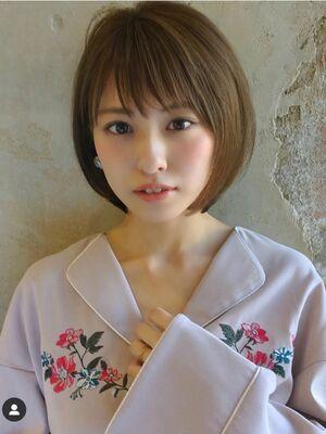 ●大人かわいい小顔ショートボブショートヘア20代30代40代新宿