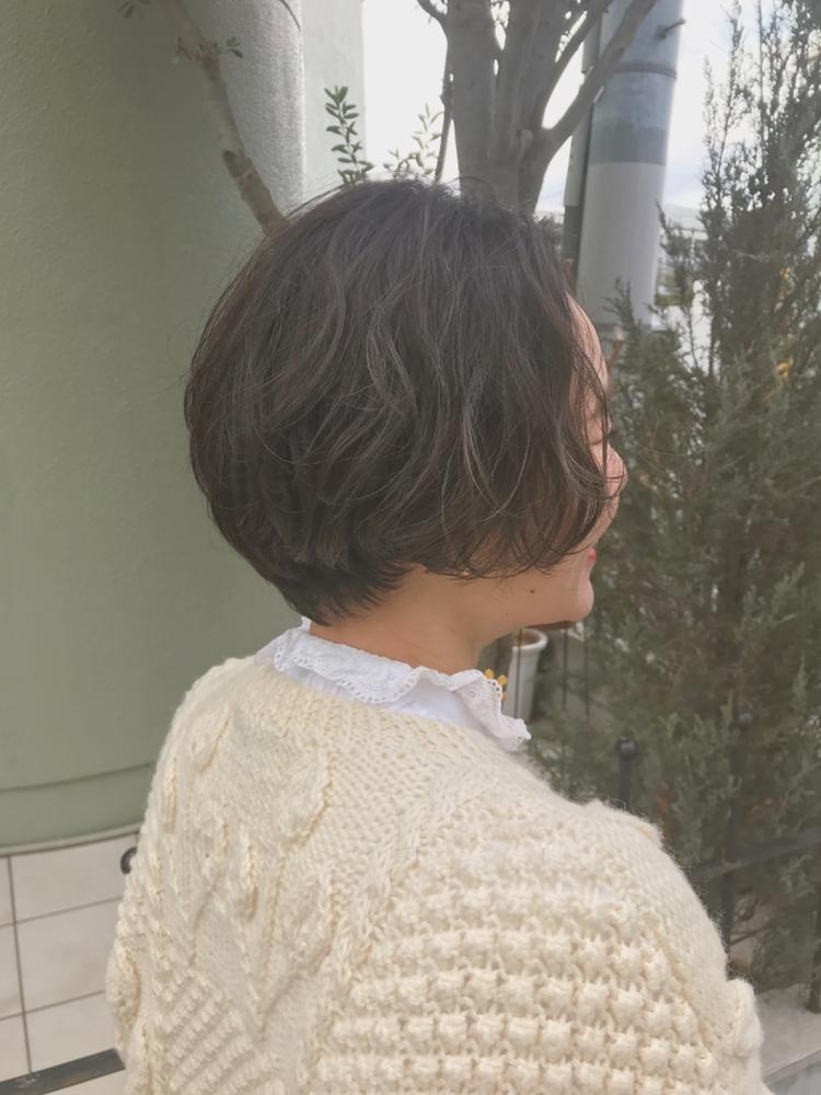 fiorista表参道駅徒歩3分自然乾燥で簡単パーマスタイル
