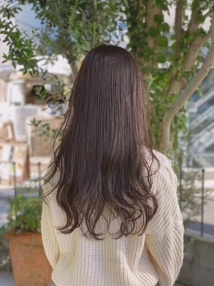 fiorista表参道駅徒歩3分透明感たっぷりフォレストハイライトカラー