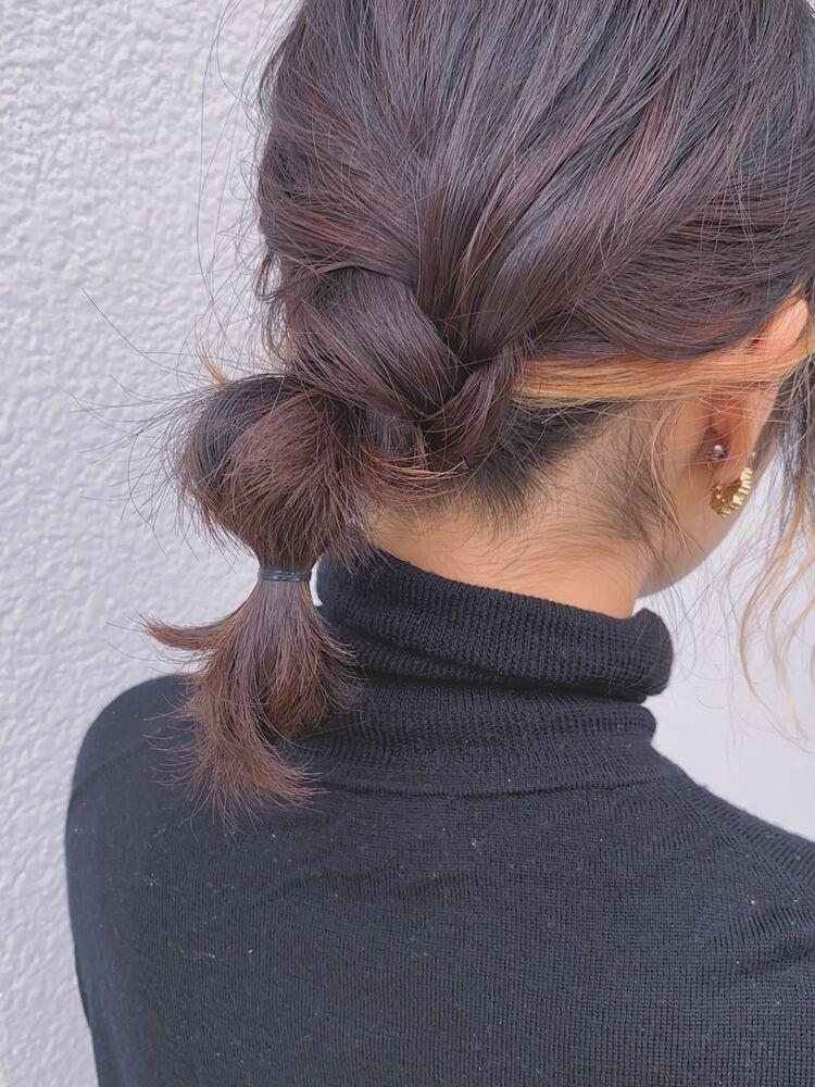 fiorista 表参道駅徒歩3分 簡単ボブアレンジヘア