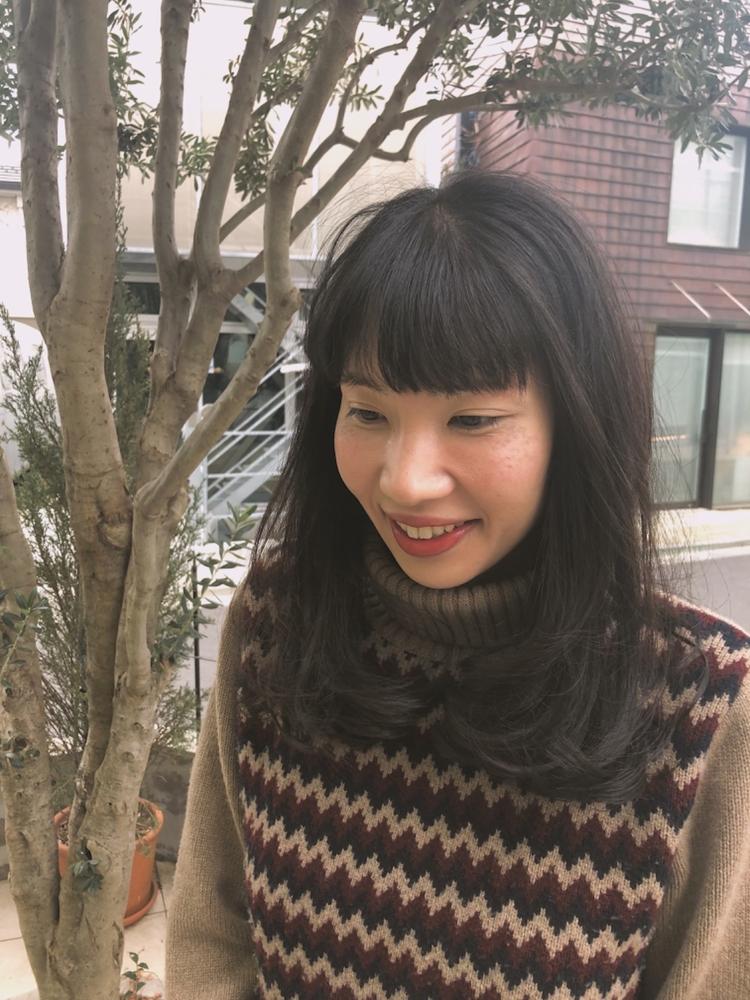 fiorista 表参道徒歩3分伸ばしかけヘアはこまめな前髪カットで脱マンネリ!