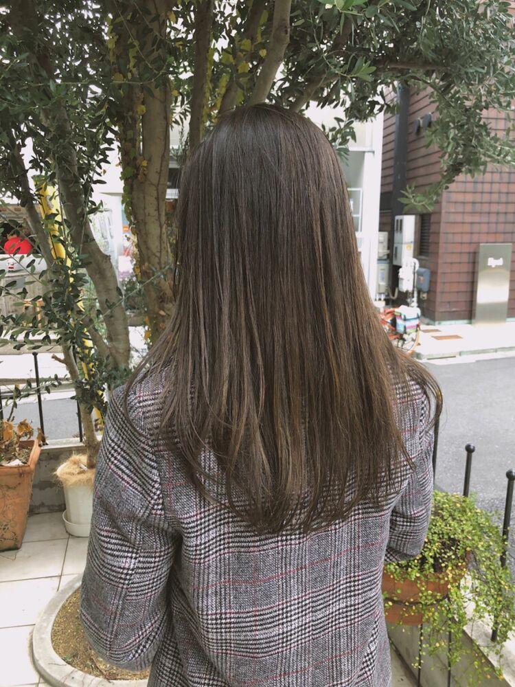 fiorista表参道徒歩3分透明感たっぷりカラー