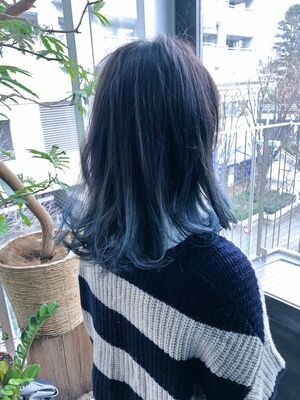 blue×grey×gradation