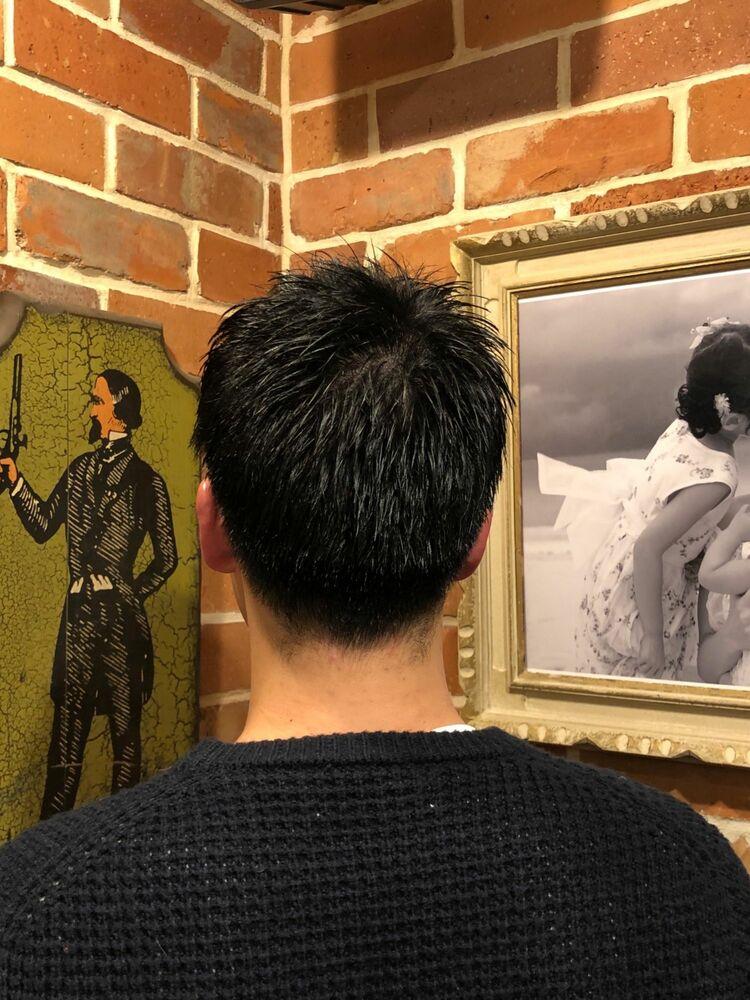 ショートスタイル/ヒロ銀座/浜松町/理容室