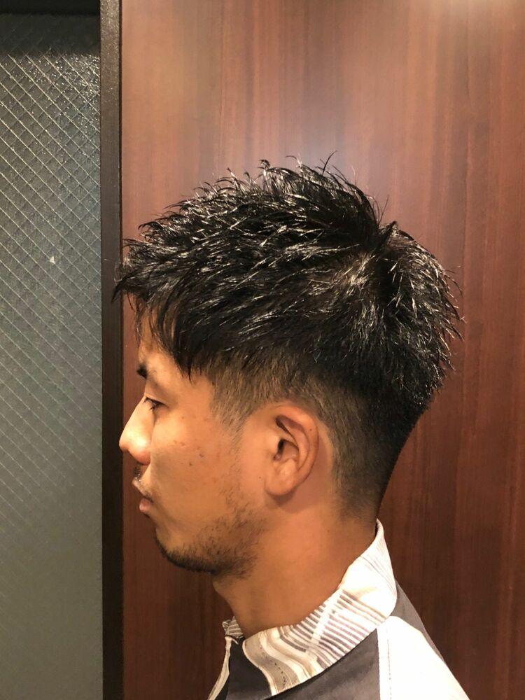 ツーブロ後ろ刈り上げ/ヒロ銀座/浜松町/理容室