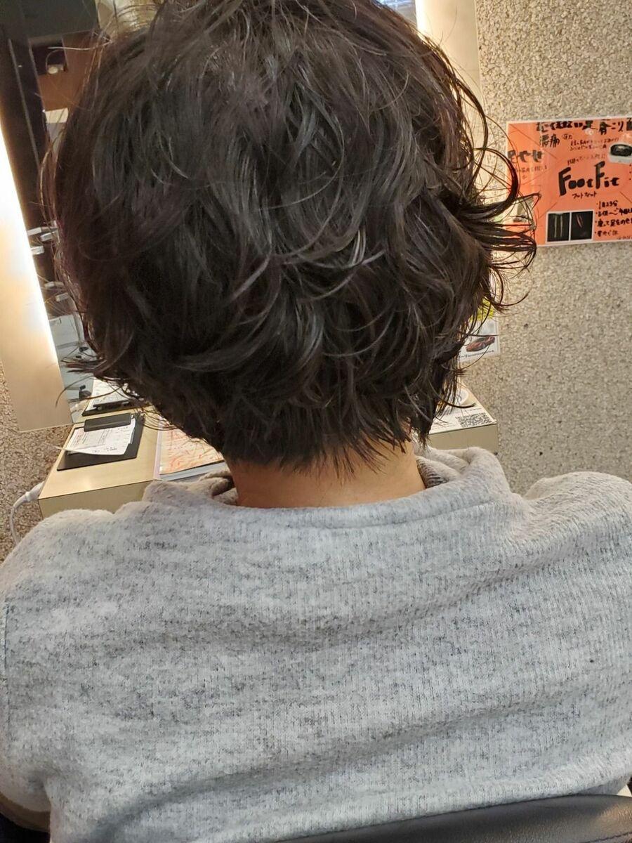 直毛さんもパーマでくせ毛風ヘアーに。˚✩