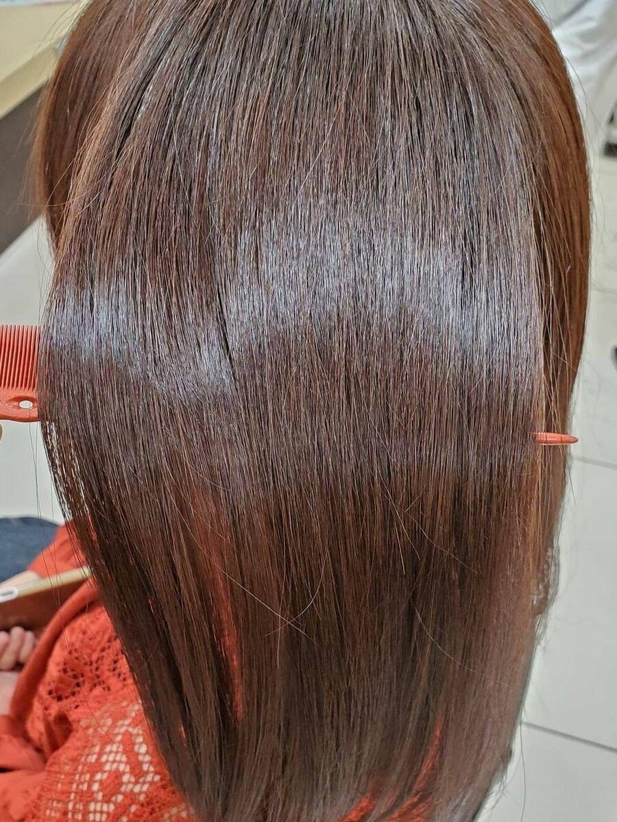 髪質改善でつくる大人の白髪染めに見えない白髪染め